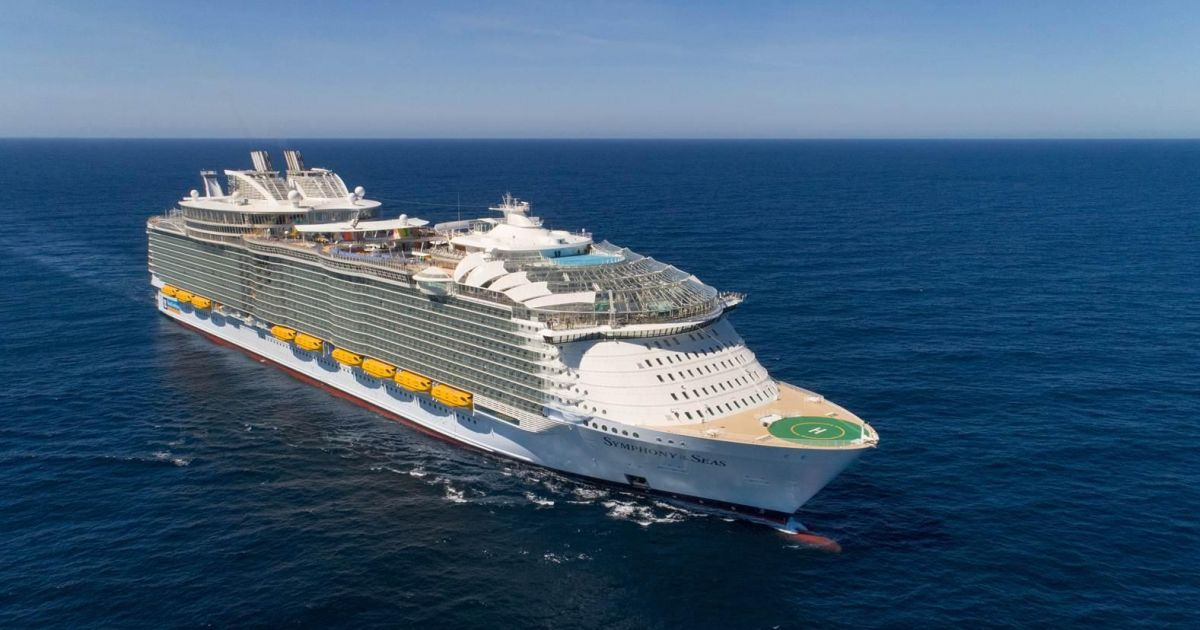 Royal Caribbean takes delivery of the world's… | West ...
