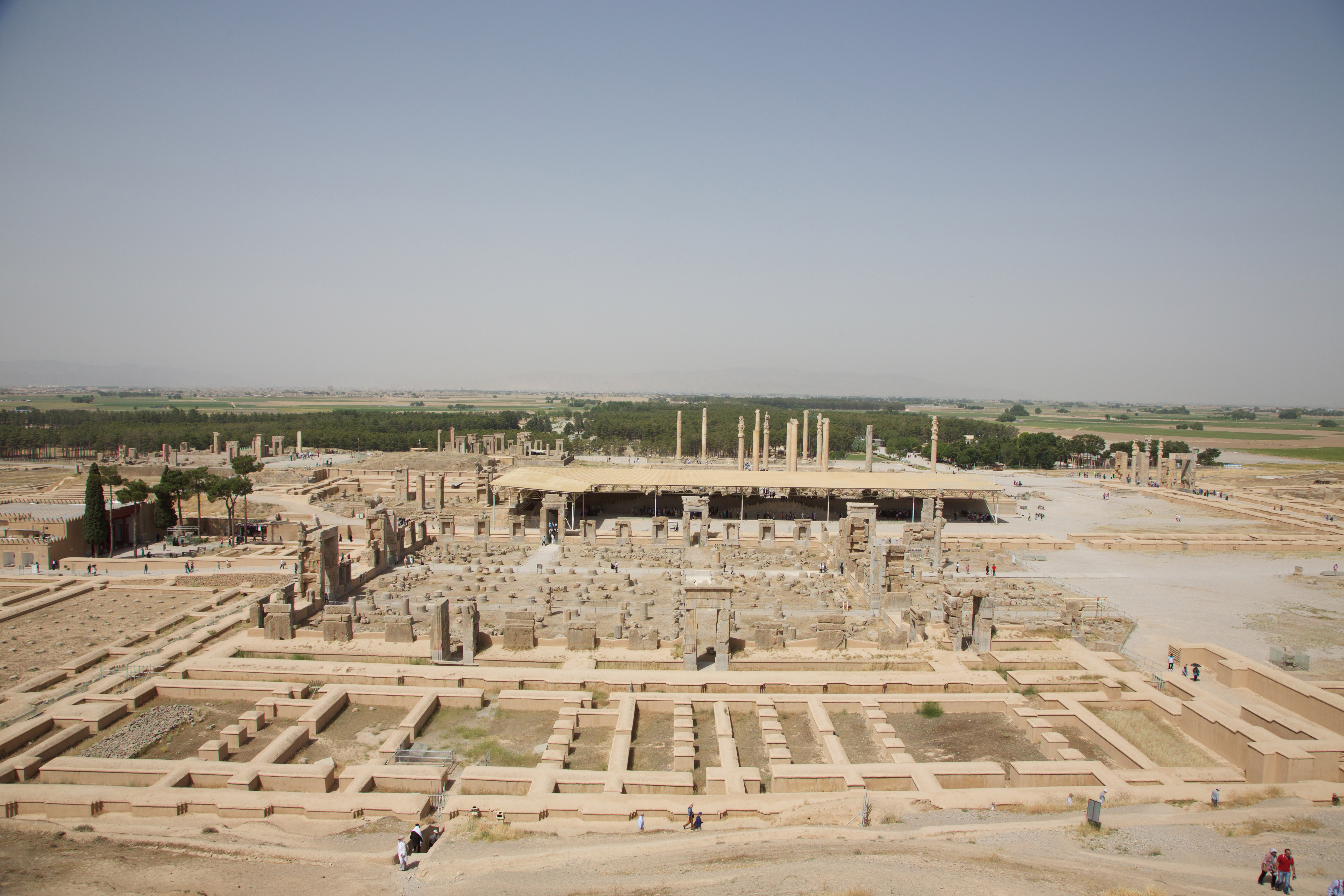The Ancient Ruins Of Persepolis West Travel Club