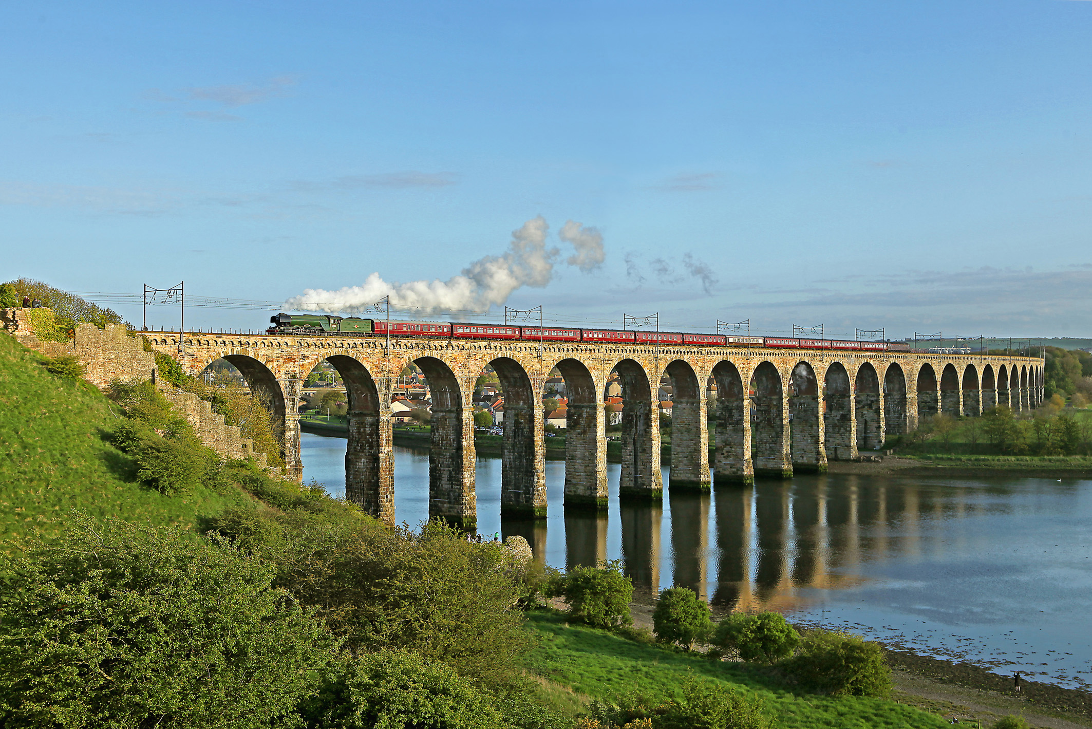 Rail And Sail Land And Sea Pairing On The Up West Travel Club