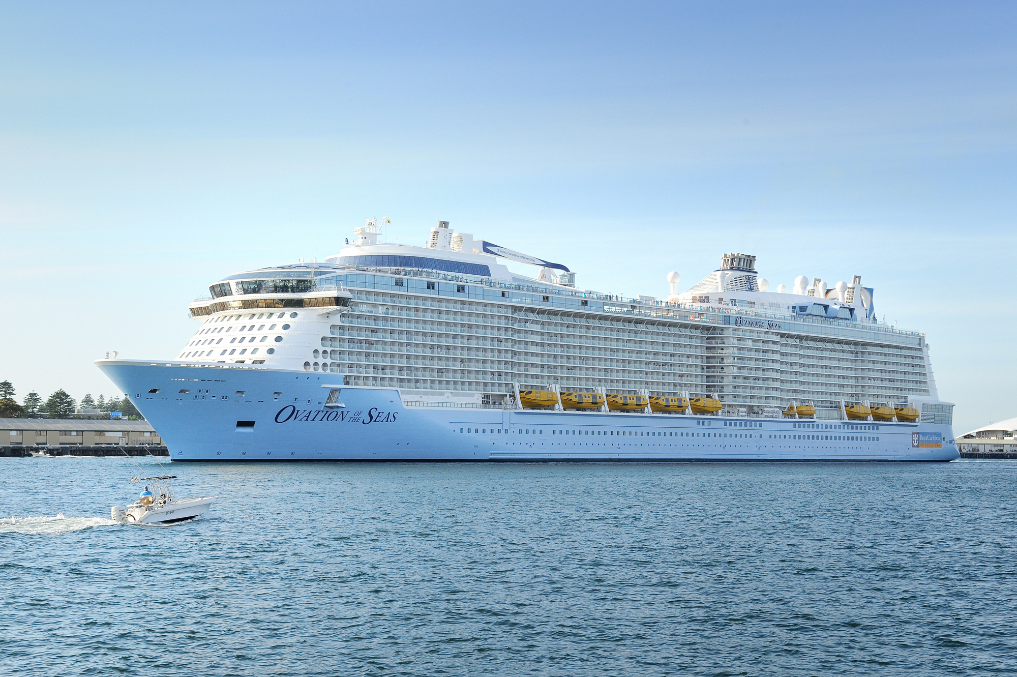 Biggest Cruise Ship To Sail Australian Waters Seven West Travel Club - Cruise ship arrivals adelaide